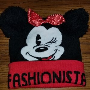 Kids Mini Mouse Hat
